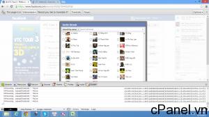 Màn hình hiển thị Invite trên Chrome