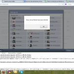 Màn hình hiển thị Invite trên Firefox