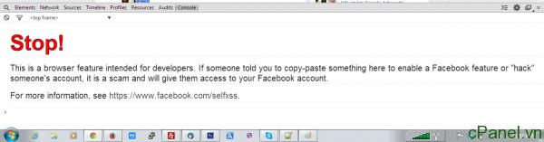 Thông báo nhỏ của Chrome