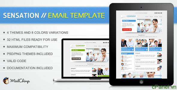 cPanel.vn tặng 7 mẫu Email Marketing tuyệt đẹp cho năm 2014